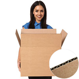 Brown Single Wall Cardboard Boxes