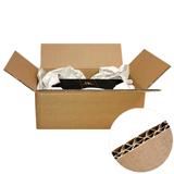 Brown Double Wall Flat Cardboard Boxes