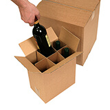 Bottle Boxes With Cell Dividers