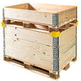 Pallet Collars And Lids