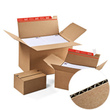Colompac Multi-Depth Cardboard Boxes