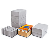 Mottled Solid Board Boxes With Lids