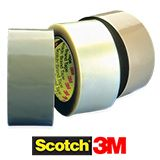 3M Scotch® 35/50 Micron Low Noise PVC Box Sealing Tape