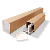 Square Heavy Duty Postal Tubes