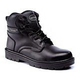 Leather Derby Safety Boot