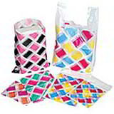 Patterned Carrier Bags