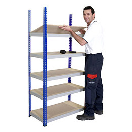 SPEEDRACK ARCHIVE & STORAGE SHELVING BLUE