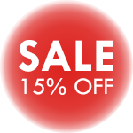 15% Off Sale Icon