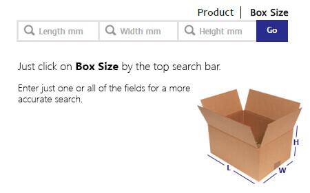 Box Size Search