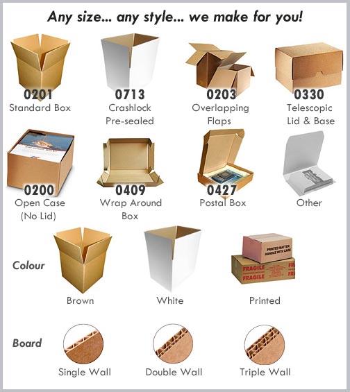 custom bespoke cardboard boxes davpack. Black Bedroom Furniture Sets. Home Design Ideas