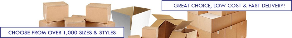 Cardboard Boxes Category Banner