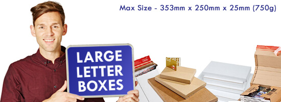 Large Letter PIP Postal Boxes Banner