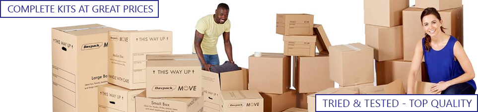 House Moving Kits and Boxes Main Banner