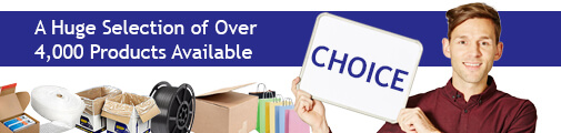 Choice Banner Huge Selection of Packaging Products