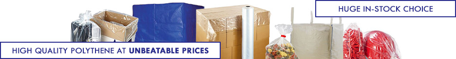 Polythene Packaging Category Banner