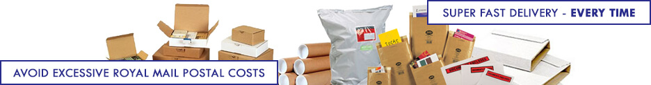 Postal Packaging Category Banner