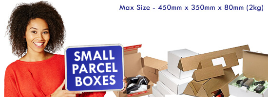 Small Parcel PIP Postal Boxes Banner
