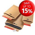 ColomPac Solid Board Brown Envelopes