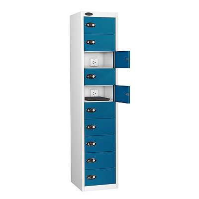 10-compartment-powered-laptop-locker