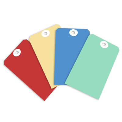 coloured-paper-tags