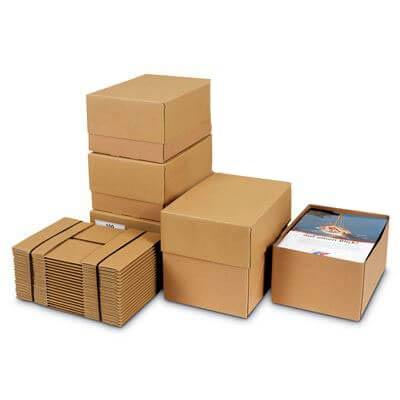 solid board boxes with lids davpack. Black Bedroom Furniture Sets. Home Design Ideas