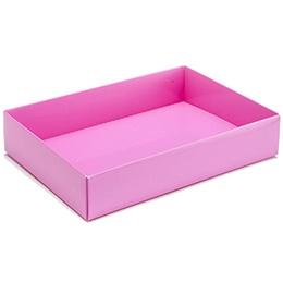 Presentation Box Gold 112x82x32 Acetate Lid 6 Choc Shop