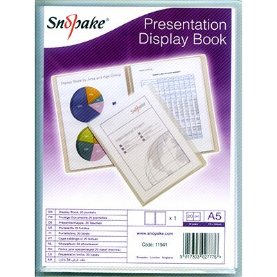 clear-a4-a5-display-books