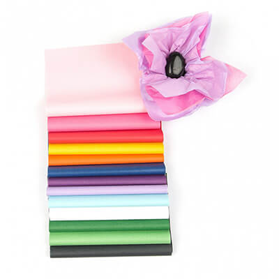 acid free tissue paper and boxes