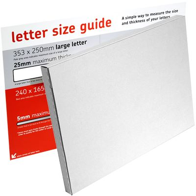 Royal mail large letter davpack post office large letter spiritdancerdesigns Gallery