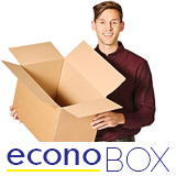 SW BROWN EASIFOLD ECONOBOX M125TT 102Lx102Wx102H PACK 25