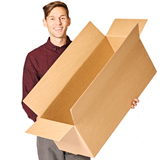 Length Opening Single Wall Cardboard Boxes