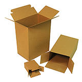 Lock End Chipboard Cartons