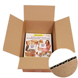 A4 SW BROWN CARDBOARD BOX 305Lx215Wx80H Pack 25