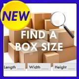 Find a cardboard box size