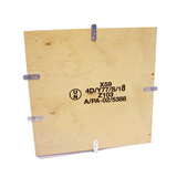 NO-NAIL PLYWOOD CASE FOR DANGEROUS GOODS - 4DV (UNSP) APPROVED - INT. 568Lx380Wx485Hmm - EACH
