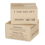 DAVPACK MOVE BOXES 456Lx456Wx250H D/W WITH HANDLE HOLES PACK OF 5