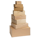 ECONOPOST POSTAL BOXES BROWN 100x80x60 - PALLET PACK 3150