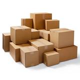 SW BROWN CARDBOARD BOX 102Lx102Wx102H - PALLET OF 4000