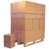 DW BROWN CARDBOARD BOX 200Lx140Wx140H PALLET Pack 960