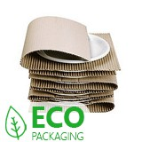 Mini Corrugated Paper Rolls