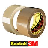 MINI PACK 3M 48mm POLYPROPYLENE TAPE BUFF 28mu