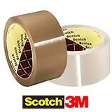 MINI PACK 3M 48mm LOW NOISE TAPE BROWN 28mu