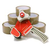 Packing Tape Dispenser and Tape Kit