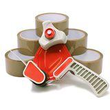 Packing Tape Dispenser and Tape Kit