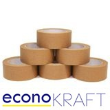 SELF ADHESIVE ECONOKRAFT PAPER TAPE 48MM PACK 6