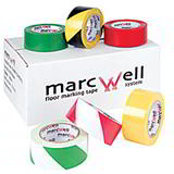 HAZARD WARNING TAPE BLACK/YELLOW (1 ROLL)