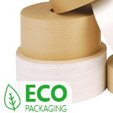 REINFORCED GUMMED PAPER TAPE BROWN 48mm x 100m 24rolls/box 38mm  INSIDE GUMMED