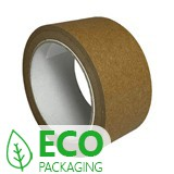 WC - SELF ADHESIVE RECYCLED HOT MELT PAPER TAPE 50MM PACK 36