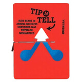 TIP N TELL IMPACT LABELS - 95x70mm - PK100