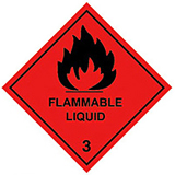 HAZARD LABELS HIGHLY FLAMMABLE